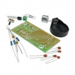 Új, egyszerű FM vezeték nélküli mikrofon alkatrészek elektronikus edzés DIY készlet 80 MHz-108MHz