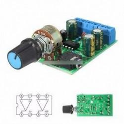 DC 1.8-12V TDA2822M 2.0 csatornás sztereó Mini AUX audió erősítő kártya modul AMP