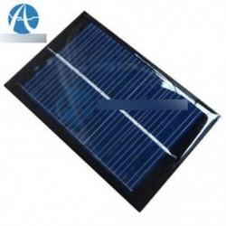 6V 100mA 0,6 W mini epoxi napelemes napelemes polikristályos cellás töltő