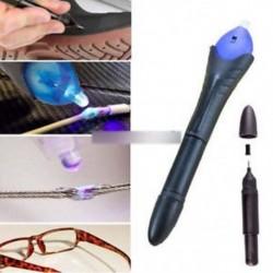 5 Második UV fényjavító készlet Fix szerszám toll ragasztó utántöltő folyékony műanyag hegesztő készlet