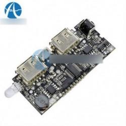Dual USB 5V 1A 2.1A mobil tápegység 18650 akkumulátor töltő PCB LCD kijelző DIY