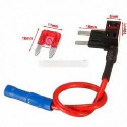 Mini - 12V ACS Adjunk hozzá egy áramköri biztosítékot Micro / Mini / Standard TAP adapterblokk biztosítéktartó 10A