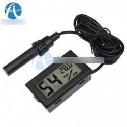 Mini digitális LCD hőmérő higrométer Páratartalom hőmérséklet mérő beltéri