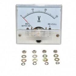 DC 30V analóg panel feszültségmérő 85C1 0-30V