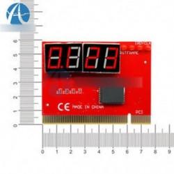 LED 4 elemzés diagnosztikai tesztelő POST kártya PCI PC Analyzer alaplap digitális