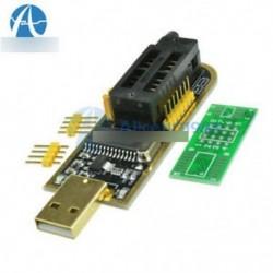 CH341A 24-es sorozatú EEPROM BIOS Writer 25 SPI útválasztás LCD Flash USB programozó ÚJ
