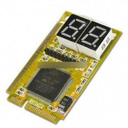 Mini 3 in1 PCI PCI-E LPC PC laptop elemző tesztelő diagnosztikai utólagos tesztkártya