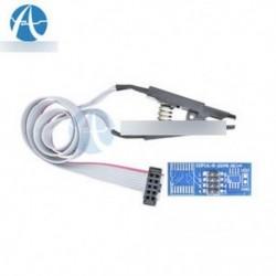 SOIC8 SOP8 Flash Chip IC teszt klipek Adapter Adapter BIOS / 24/25/93 Programozó