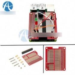 DIY Prototyping Hat Shield lyuklemez készlet Raspberry Pi 2 modellhez B A   / B