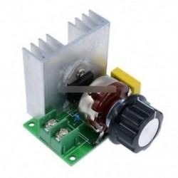 4000W AC 220V SCR feszültségszabályozó fordulatszám-szabályozó Dimmer termosztát modul