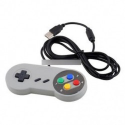 Super Nintendo SNES USB GAME vezérlő Gamepad Joypad PC Mac Windows PAD-hoz