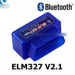 Kék - ELM327 V2.1 OBD2 II Mini Bluetooth diagnosztikai autó automatikus interfész szkenner