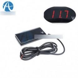 12V LED kijelző Voltmetrikus feszültségmérő panel mérő autó motorkerékpárhoz