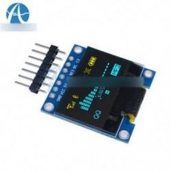 """0,96 &quot kék sárga OLED - 0,95 """"/0,96"""" 128X64 7pin teljes szín 65K színes SSD1331 SPI OLED LCD LED kijelző"""