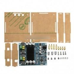 TPA3116D2 120Wx2 digitális Bluetooth 4.0 audió vevő erősítő akril tok DIY