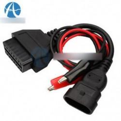 3 pólusú 16 tűs OBD2 adapter csatlakozó diagnosztikai kábel a Fiat Alfa Lancia