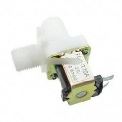 """1/2 """"N / C DC 24V mágneses N / C elektromos mágnesszelep vízlevegő bemeneti áramláskapcsoló"""