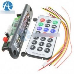 Vezeték nélküli Bluetooth 12V MP3 WMA dekóderpanel Audió modul USB TF rádió autóhoz