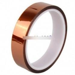 2PCS 20mm 2cm X 30M 100ft szalag magas hőmérsékletű hőálló poliimid