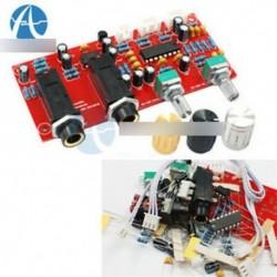 PT2399 NE5532 Mikrofon erősítőpanel előerősítő visszahúzó panel