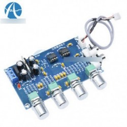 NE5532 sztereó előerősítő előerősítő hangpanel 12-24V AC erősítő kártya