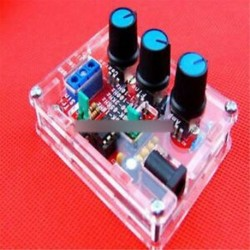 XR2206 Funkciógenerátor DIY készlet Sine háromszög négyzet kimenete 1HZ-1MHZ   tok