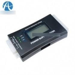 Tápegység tesztelő 20 24 Pólusú Sata LCD PSU HD ATX BTX feszültség tesztforrás