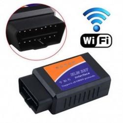 ELM327 WiFi OBD2 OBDII autó diagnosztikai szkenner kódolvasó eszköz az iOS és Android