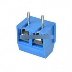 100PCS KF301-2P 5.08mm 2 érintkezős csatlakozó csatlakozó