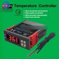 STC-1000 110V-220V mindenfunkciós hőmérsékletszabályozó termosztát akvárium érzékelő