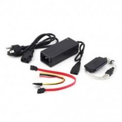 SATA / PATA / IDE USB 2.0 adapter átalakító kábelhez 2,5 / 3,5 hüvelykes merevlemezhez
