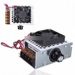 4000W AC 220V feszültségszabályozó motor fordulatszám-szabályozó ventilátor termosztátja