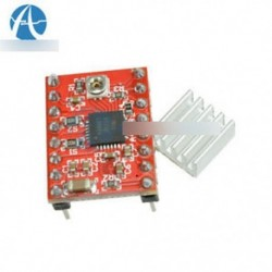 10PCS A4988 illesztőprogram modul StepStick léptetőmotor-meghajtó a 3D-s nyomtató visszavonásához