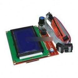 12864 Kijelző LCD 3D nyomtatóvezérlő   Adapter RAMPS-hez 1.4 Reprap Mendel