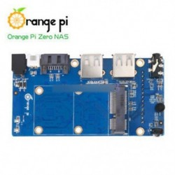 Orange Pi Zero NAS - Narancssárga Pi Zero / Nulla NAS 256/512 MB H2 WiFi SBC bővítő kártya USB fekete ABS tok