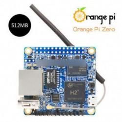Orange Pi Zero 512MB - Narancssárga Pi Zero / Nulla NAS 256/512 MB H2 WiFi SBC bővítő kártya USB fekete ABS tok