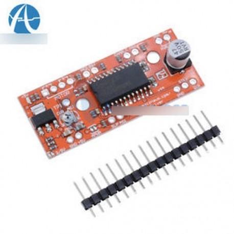 10PCS Easy Driver Shield léptetőmotor-meghajtó V44 A3967 Arduino