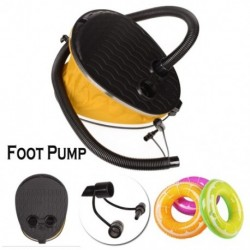 Gyorsan felfújható gumiharang típusú fújása és szívása 2 az 1es lábpumpa
