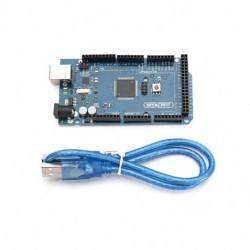 ÚJ MEGA 2560 R3 fejlesztő kártya CH340G ATMEGA 2560 készlet USB kábel Arduinohoz