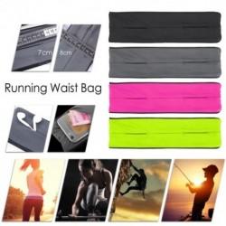 Derék táska szabadtéri fitnesz láthatatlanul lélegző tornaterem sport mobiltelefon derék csomag