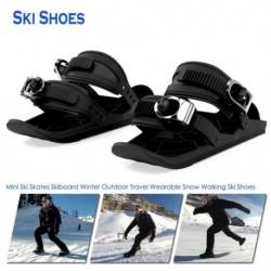 Mini sípálya  téli szabadtéri utazási hordható hó séta sícipő