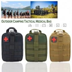 Kültéri orvosi készlet Elsősegély életmentő készlet Nylon vízálló kemping taktikai orvosi táska