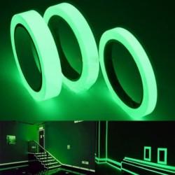 10M Fényes szalag öntapadós matrica otthoni dekoráció sötétben világító