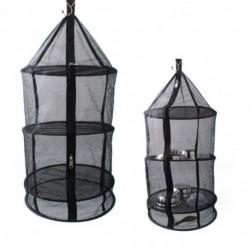 Szárítóasztal függő száraz háló tartós háló összecsukható függő szárító cipzárral ellátott lámpákkal