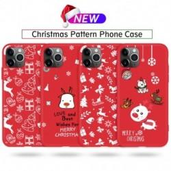 Karácsonyi telefontok iphone 11 Pro ütésálló tok, TPU szilikon tok