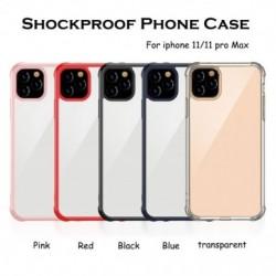 Ütésálló telefontok iPhone 11/11 Pro Max tok, átlátszó védelem, hátsó öböl