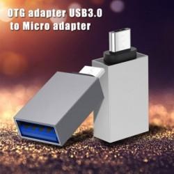 Mikro USB OTG adapter dugaszolható USB 3.0 aljzatba Hordozható OTG átalakító Samsung Xiaomi Android mobiltelefon