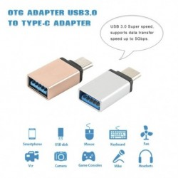 C3 típusú USB 3.0 C típusú OTG adapter C-típusú USB-C OTG átalakító Xiaomi Mi5 Mi6 Huawei Samsung egér billentyűzet