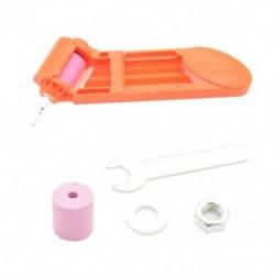 2-12,5 mm-es kék vagy narancssárga korund csiszolókorong-szerszám hordozható fúrófej-hegyező csavar fúró-bit marógép