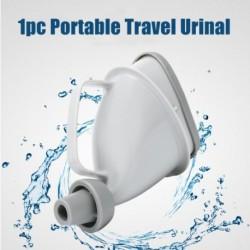 Hordozható utazási vizeldecsatorna cső kültéri kemping vizelés felállni Pee vizelési WC 1 darab